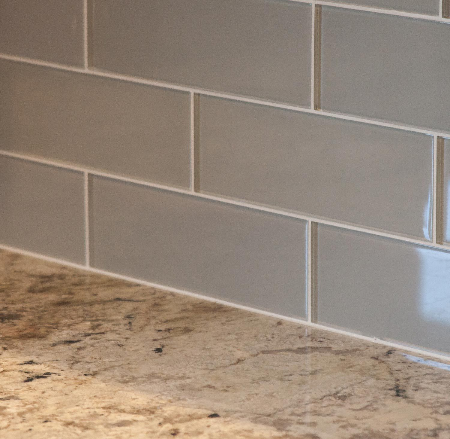 castle rock builder spec home with island subway tile and farm