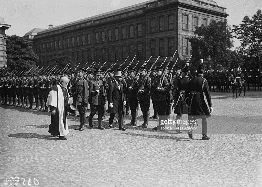 1911 V Visit To Eire Ireland history, Dublin