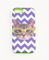 Hipster Cat Iphone 5/5S Case