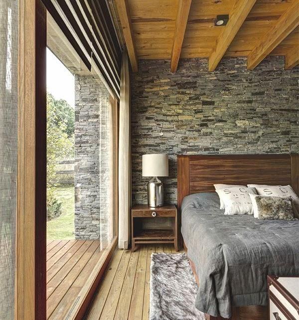 Casa Rustica y Moderna en Piedra / Rustic and Modern Stone House ...