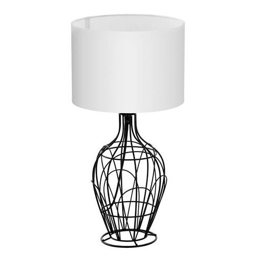 Eglo Lighting 94608 Buy Eglo 94608 Fagona Black Wire Table Lamp Base With White Fabric Shade 635mm For Only 42 75 Ex Vat Table Lamp Base Lamp Bases Lamp