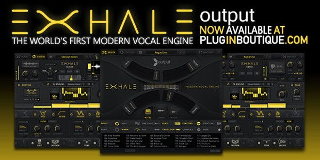 EXHALE Modern Vocal Engine Plugin by Output | Music Loops, Sound