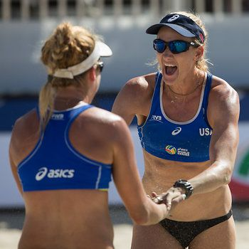 717c46ca6a1 Americans Kerri Walsh and April Ross took home the title at the FIVB World  Series of