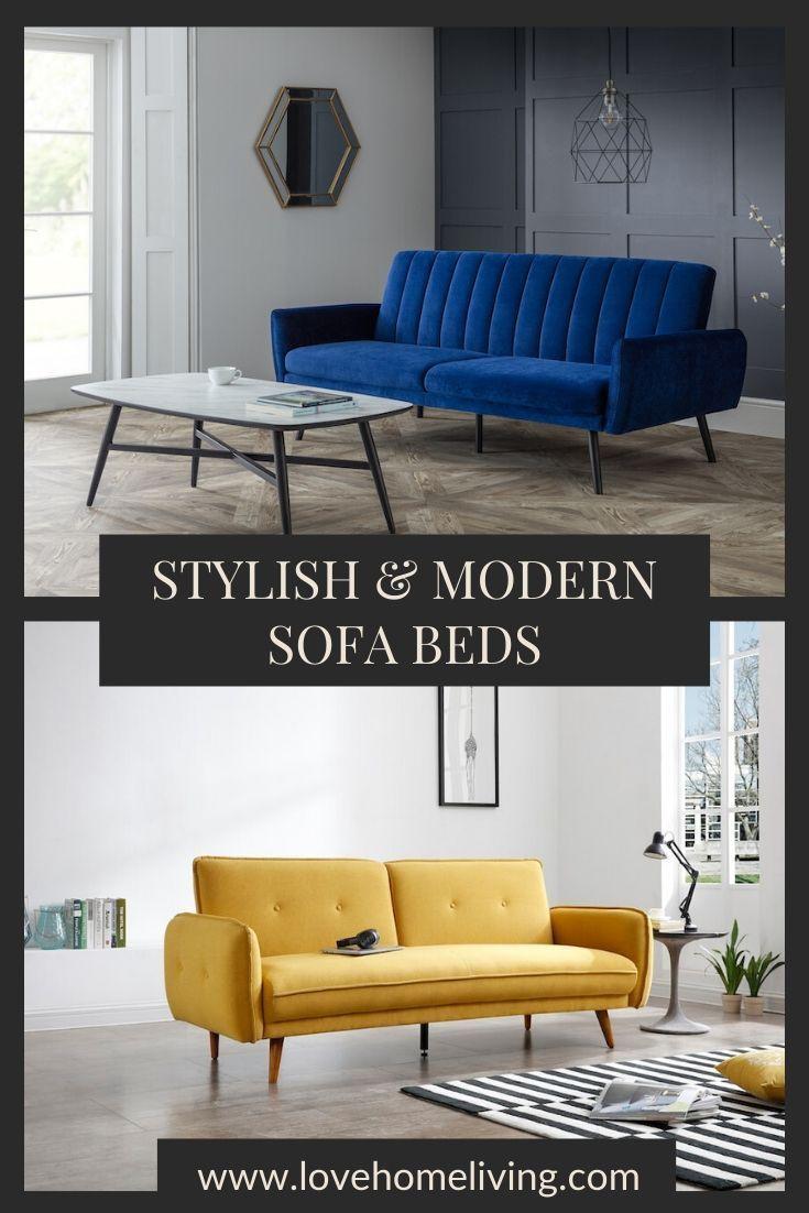 Stylish & Modern Sofa Beds in 2020 Modern sofa bed, Sofa