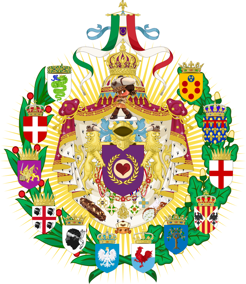 Greater Coat Of Arms Of The Italian Empire Im By Ericvonschweetz On Deviantart Coat Of Arms Italian Empire Daily Art