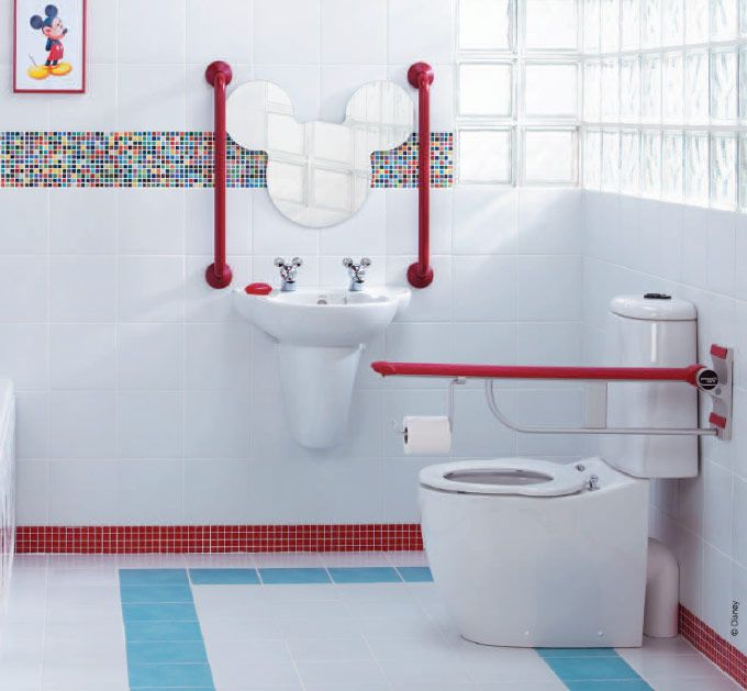 Kids Bathroom Design Bathroom  Funny Kids Bathroom Decor Ideas  Bright Disney Themed