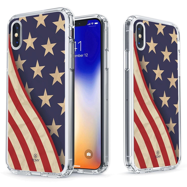 IPhone X American Flag Case