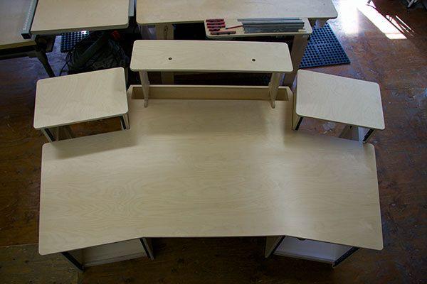 Solitaire Recording Studio Desk Recording Studio Furniture