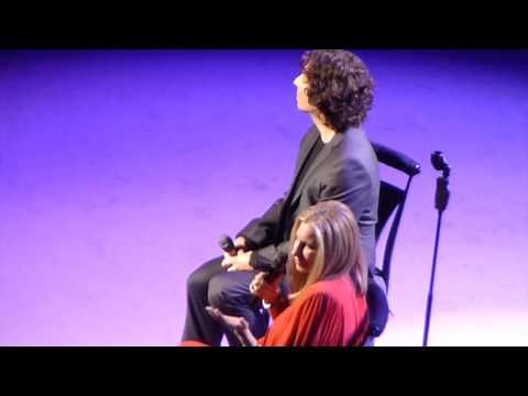 Barbra Streisand Her Son Jason Gould Duet Live In London June 1st 2013 Hd Youtube Barbra Streisand Music Songs Music Artists