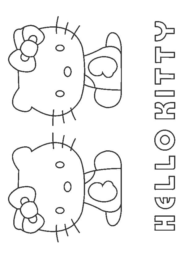 Print Coloring Image Momjunction Hello Kitty Theme Party Coloring Pages Hello Kitty