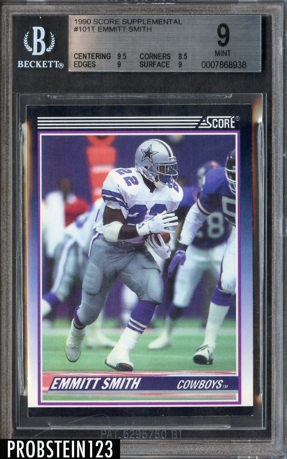 1990 score supplemental with images football cards