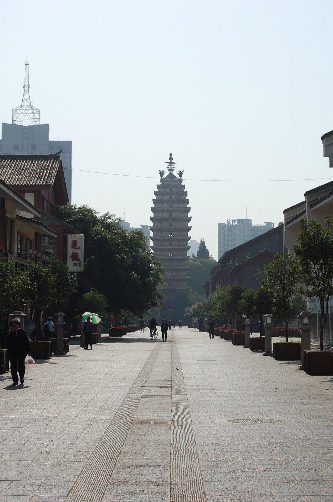 Kunming - Pagode de l'est