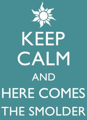 Keep calm? If that's coming from Flynn there IS no way to
