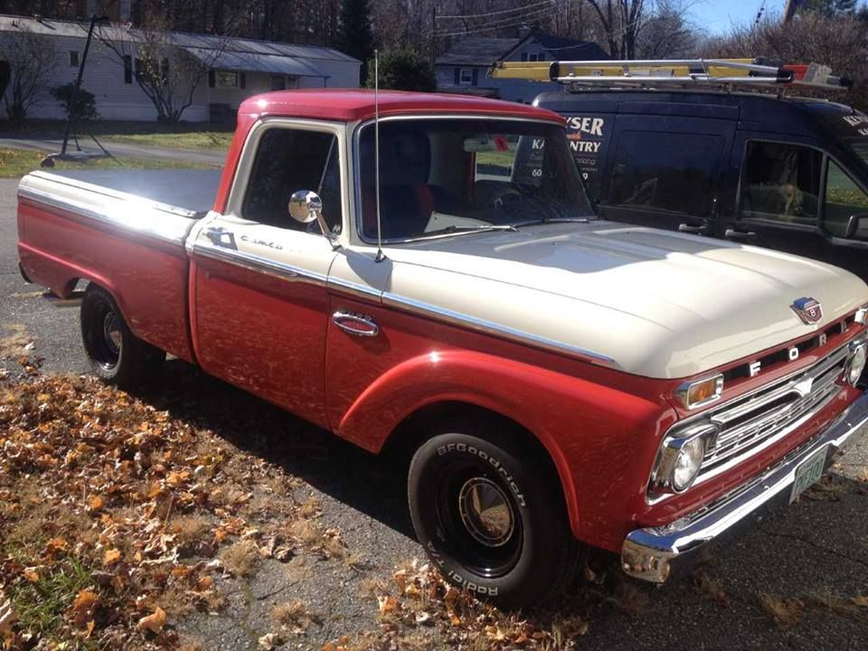 1966 Ford F100 (Canaan, NH) 19,900 obo Give our friend