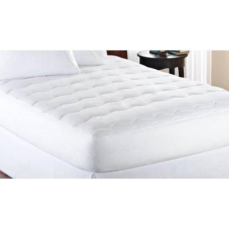mainstays extra thick 1 mattress pad