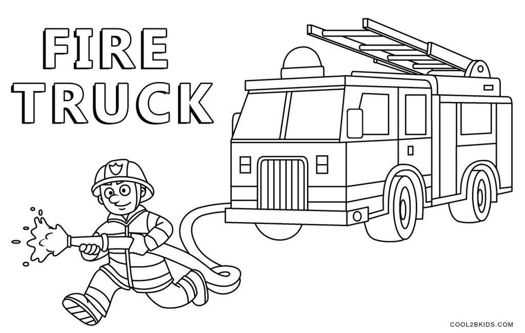 13f3f8140246a3daef179e7483f26e5d » Coloring Pages Fire Trucks