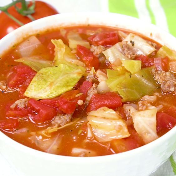 Sausage & Cabbage Soup