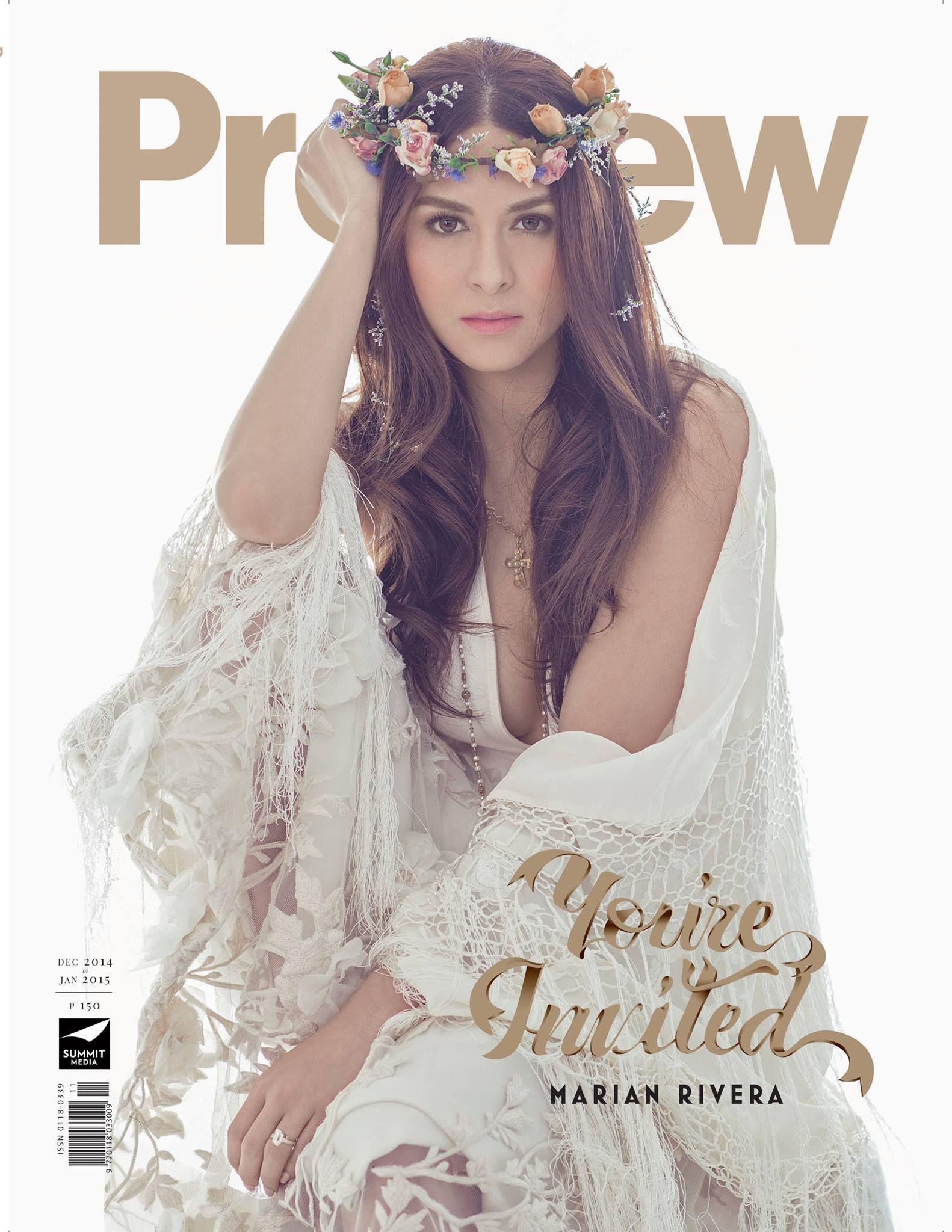 Marian Rivera Preview Magazine Cover Philippines