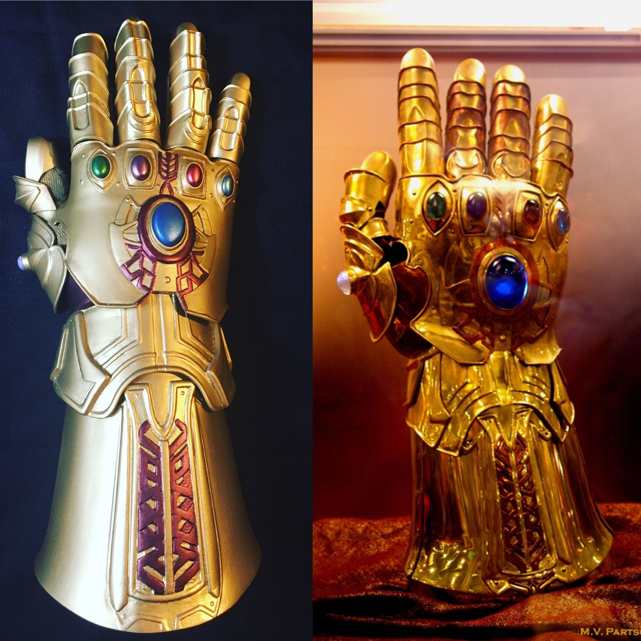 3d printed infinity gauntlet build pics gonna make this