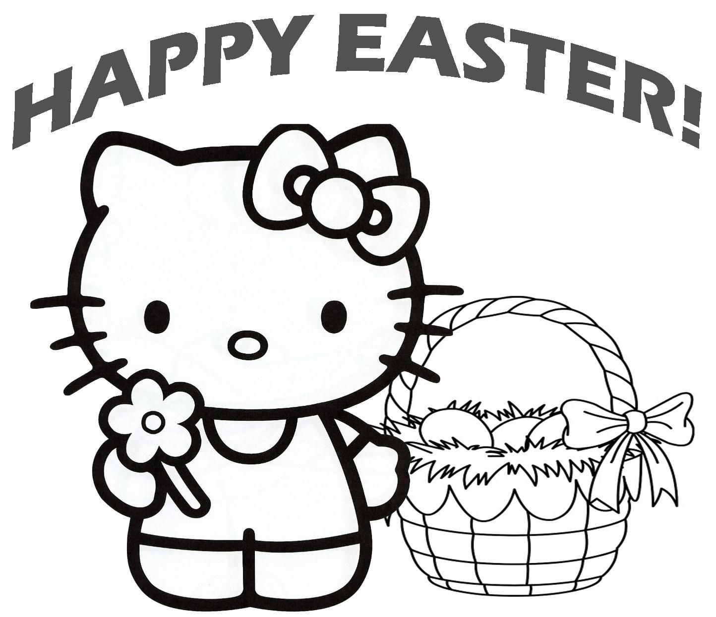 Pin By Coloringsworld On Easter Coloring Pages