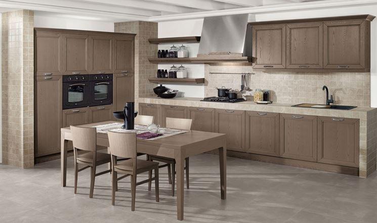 cucina+in+muratura+moderna.jpg (418×550) | Idee per la cucina ...
