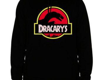 game of thrones hoodie jurassic world sweatshirt got dracarys ...