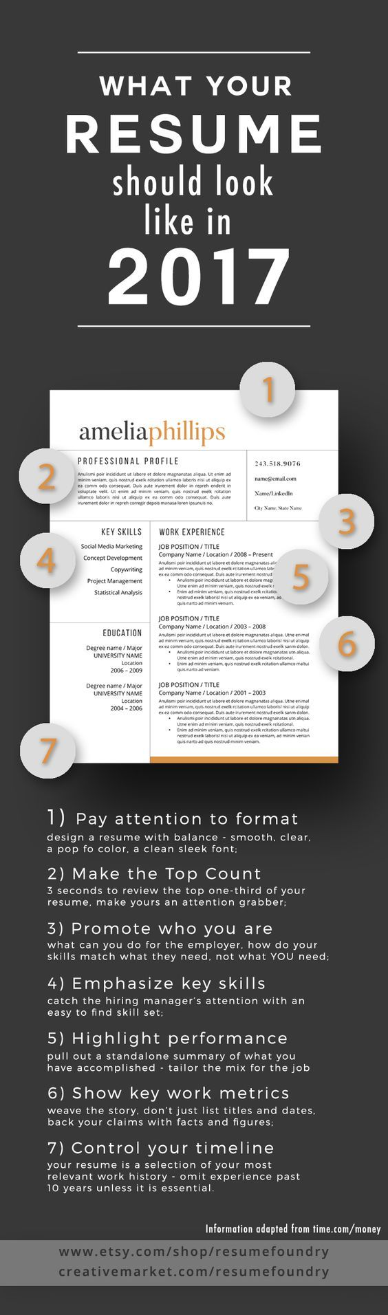7 Tips To Transform Your Resume To 2017 Check Out The Article At Time Com Money Resume Tips Helpful Hints Career Advice