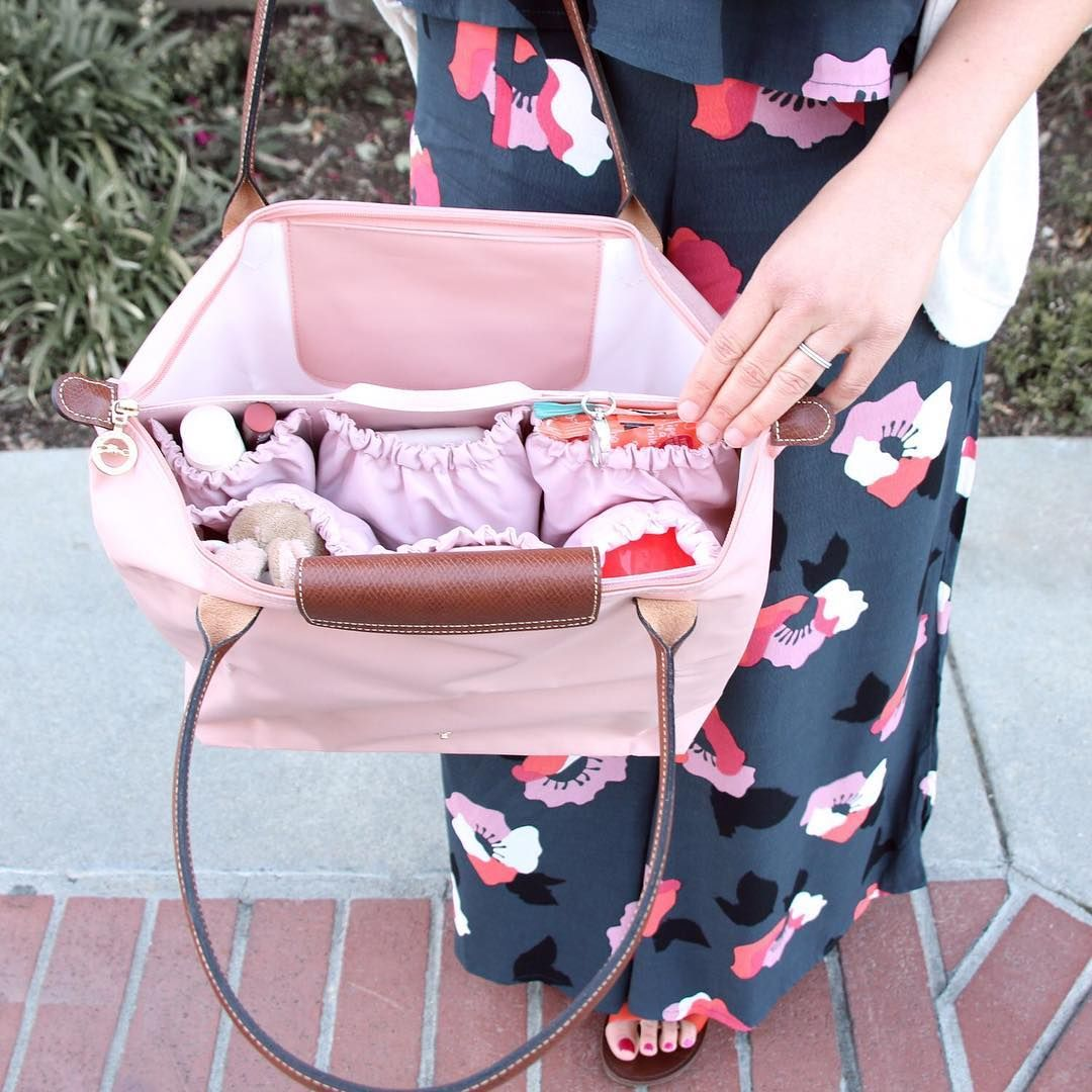 Love Transforming Our Longchamp Le Pliage Large Into A Diaper Bag With Totesavvy Original