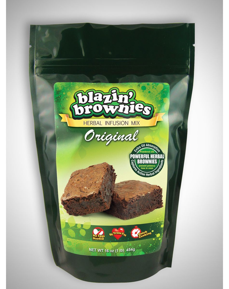 13f49b3939942ebb7ddb3057eda24d7d blazin' brownies herbal infusion mix now available at spencer gifts