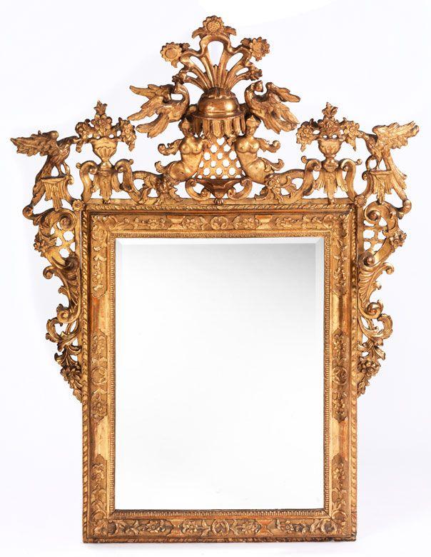 pr chtiger barockspiegel m bel einrichtung pinterest spiegel spiegel rahmen und rahmen. Black Bedroom Furniture Sets. Home Design Ideas