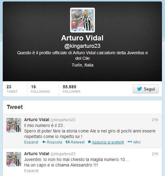 Vidal Twitter - Respect!!