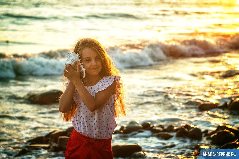Детская фотосессия на природе и у моря