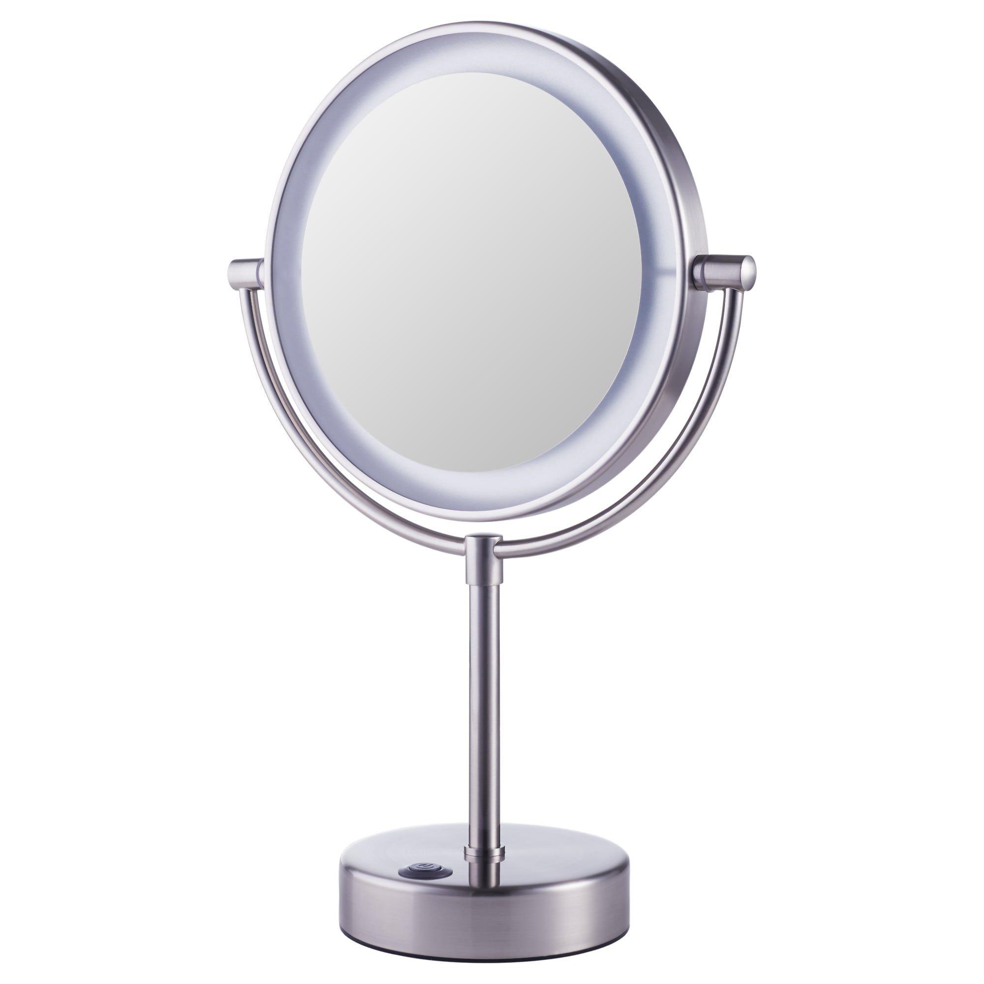Ikea Kaitum Battery Operated Mirror With Built In Light Mirror With Built In Lights Mirror With Lights Ikea Mirror