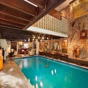 Manhattan Marvel: Townhouse With a Living Room Pool