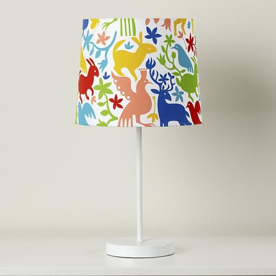 Awesome Kids Lighting: Colorful Animal Otomi Mexican Lamp Shade In Table Lamps |  The Land Of Awesome Design