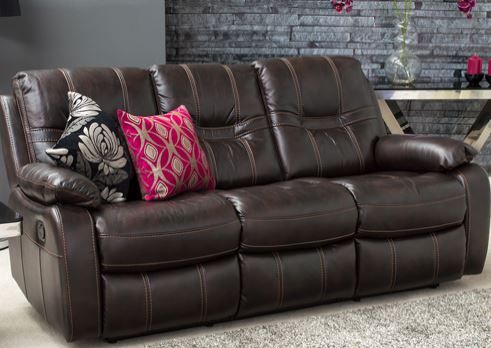 Kennedy 3 Seater Sofa Reclining Living Room Recliner