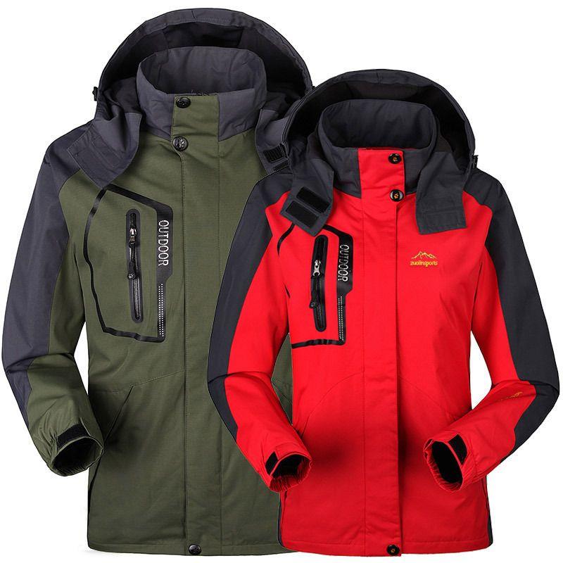 e3a1972610926 Cheap Primavera otoño hombres mujeres chaqueta jaqueta Outdoor acampar mis  deportes abrigo hombres de moda montaña