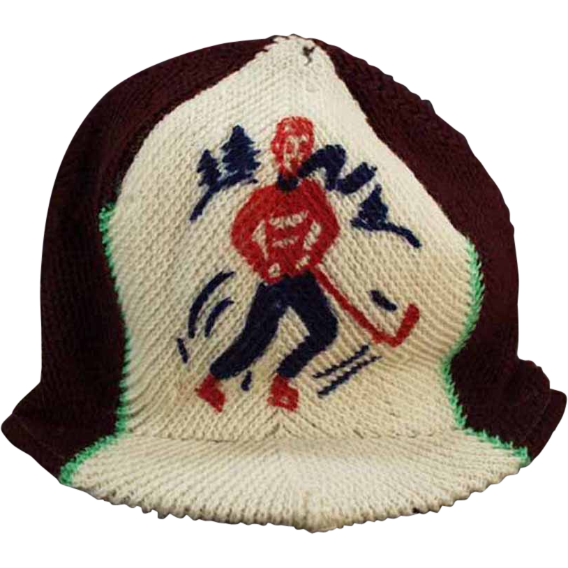 0dbb5cce762084 Winter's here! Get ready for all of those fun winter activities and be sure  to dress warm! Child's, Old, Knit Hat with Original Eton Glacier Paper Tag