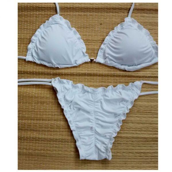 5bae8ceada25 molde biquini ripple frufru/kit | Moda Praia | Biquini, Molde e Moda