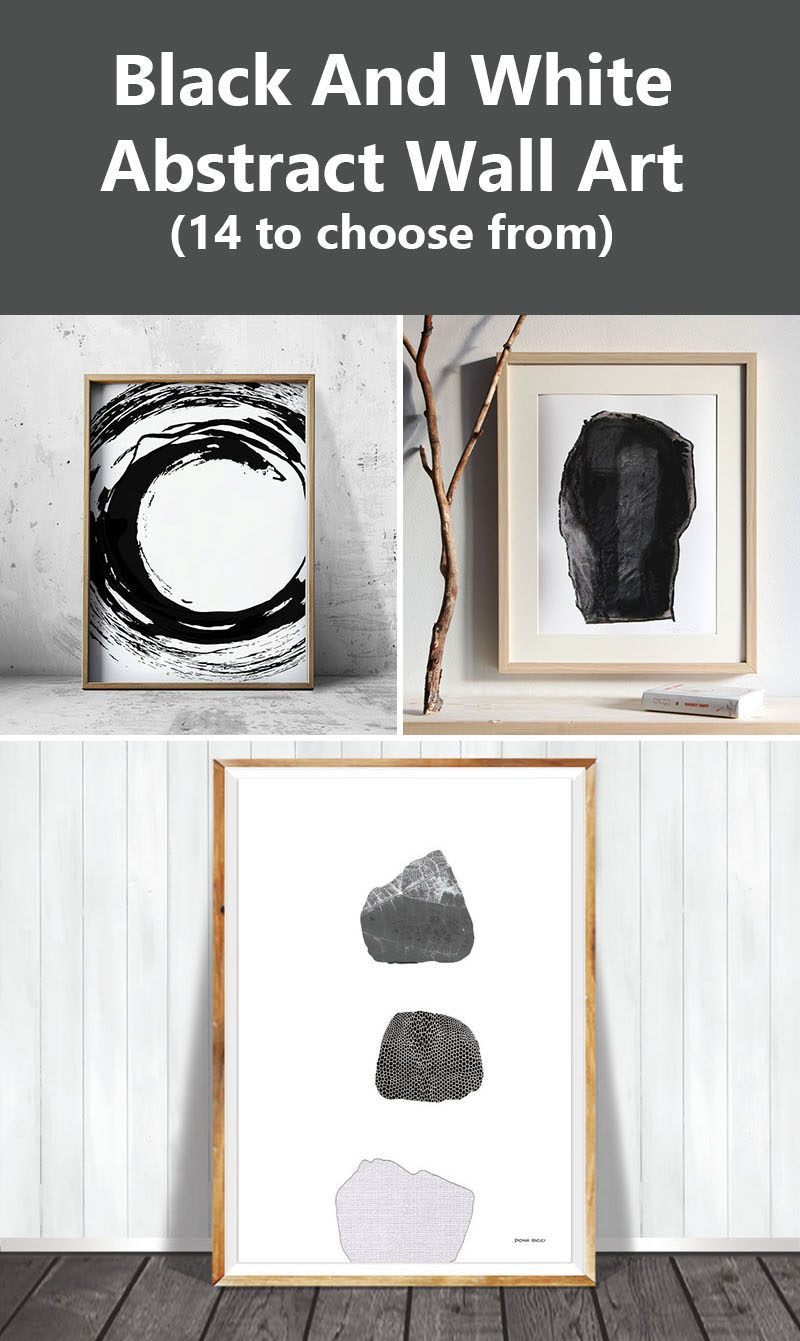 Wall art ideas ideas for black and white abstract wall art