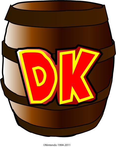Donkey Kong Barrel By Horo90 On Deviantart Donkey Kong Kong Barrel