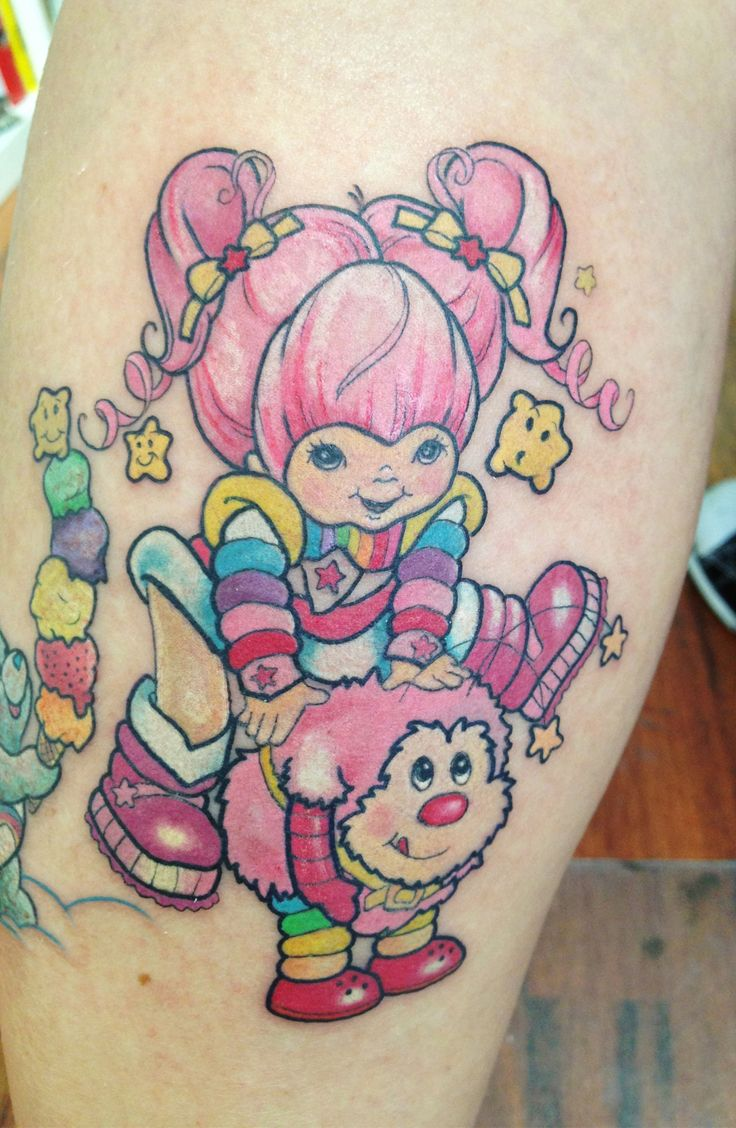Rainbow Brite Cartoon Tattoo Tattooideaslivecom Rainbow Cartoon