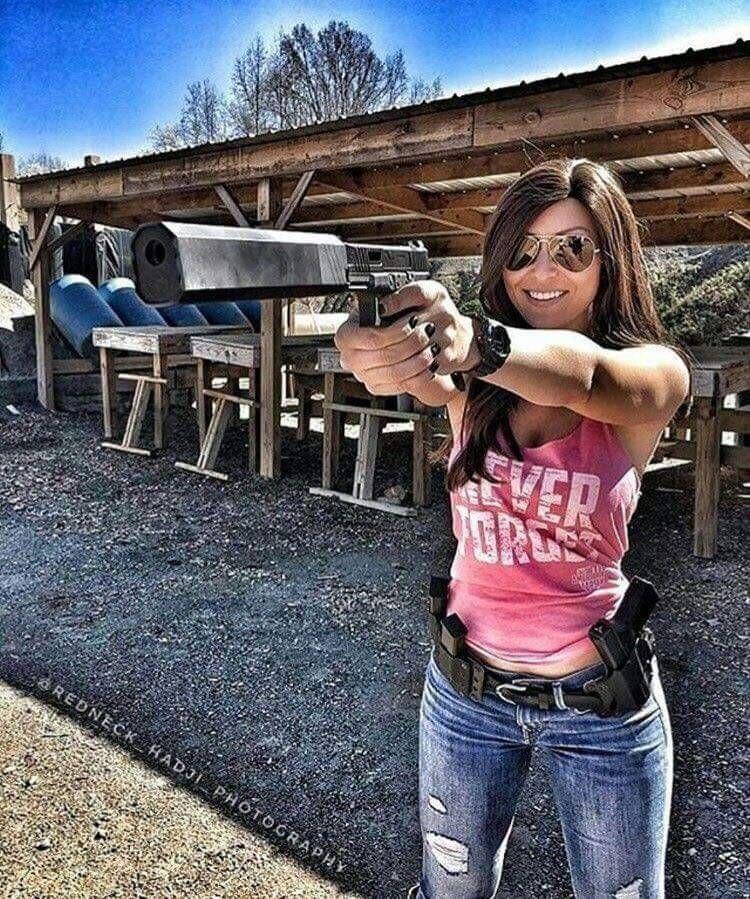 Wife Material   Girl guns, Guns, Warrior woman