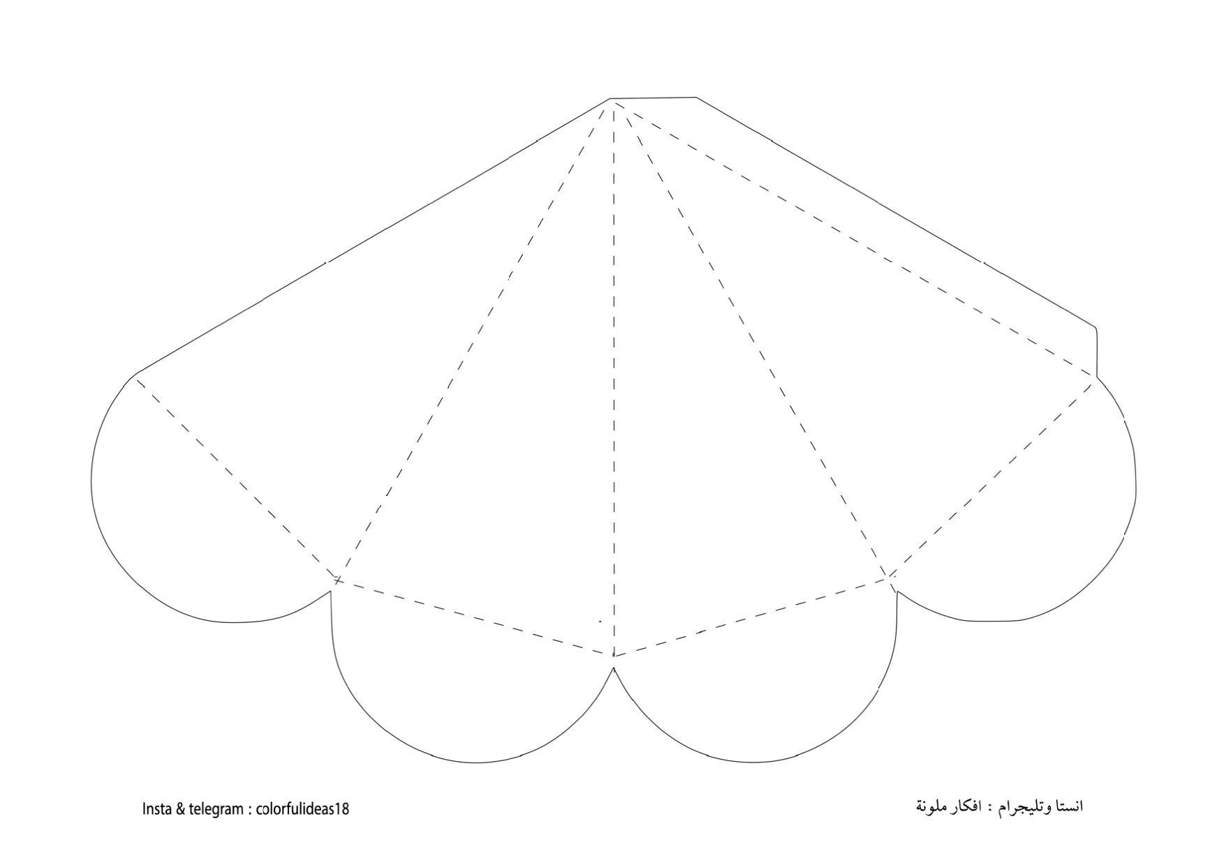 قالب مثلث