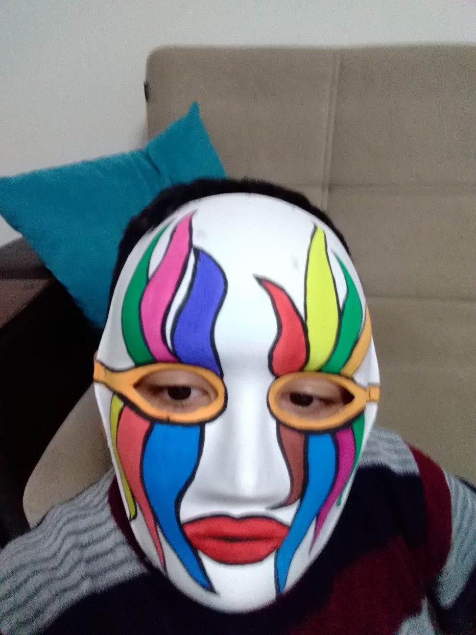 Maske Boyama Maske