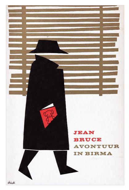 Jean Bruce book cover design by Dick Bruna