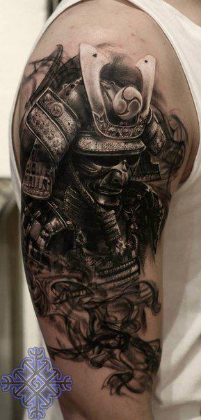 35 pinterest tatouage samourai. Black Bedroom Furniture Sets. Home Design Ideas