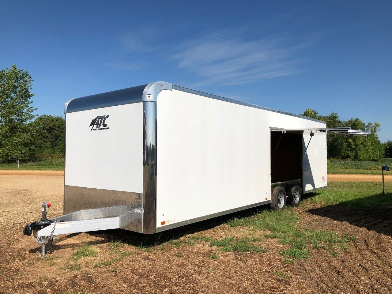 Check Out This 2019 Atc Aluminum Trailer Company Ravab8528 0 2t5