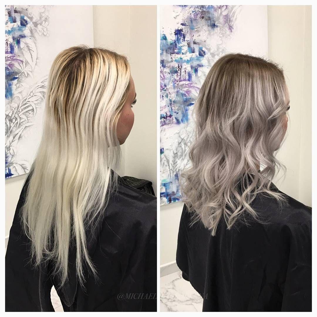färga håret grått från brunt