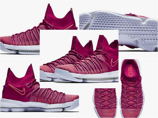 outlet store ec0fc 349e5 ... buy cheap nike kevin durant kd 9 elite racer pink white 878639 666 may  15 2018